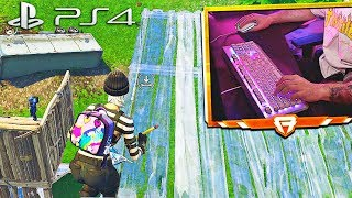 Mouse & Keyboard on PS4!! (Fortnite Battle Royale on Console)