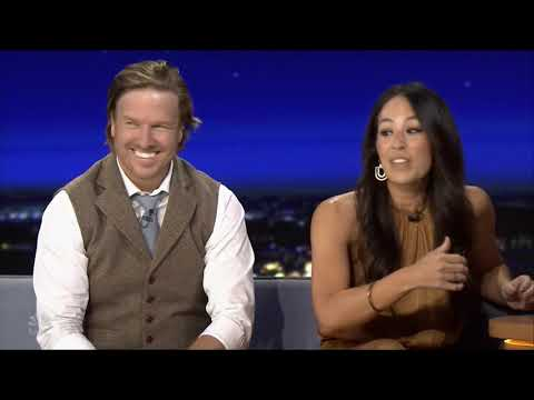 Baylor's own Chip and Joanna Gaines on Jimmy Fallon Show
