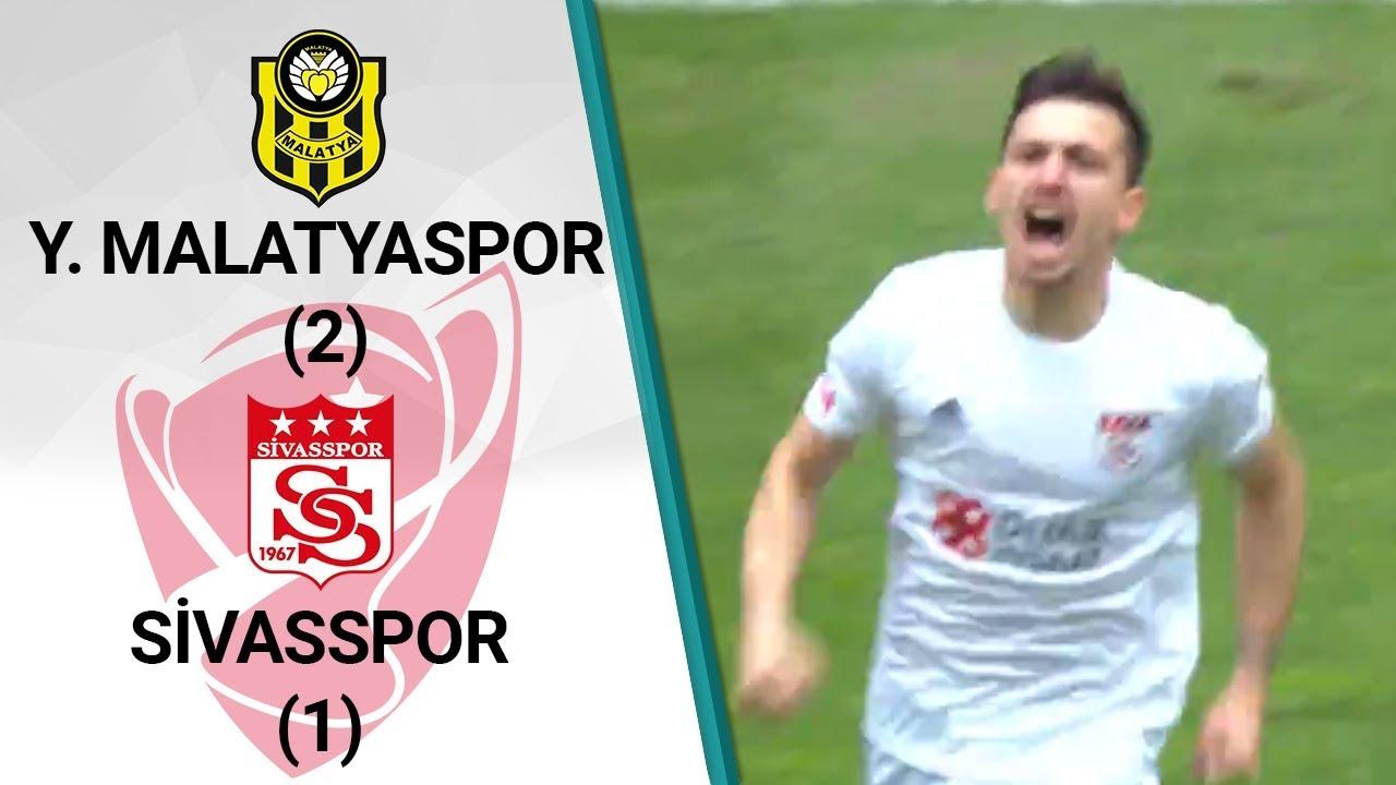 Yeni Malatyaspor 2-1 Sivasspor MAÇ ÖZETİ (Ziraat Türkiye Kupası Son 16 Turu Rövanş Maçı)