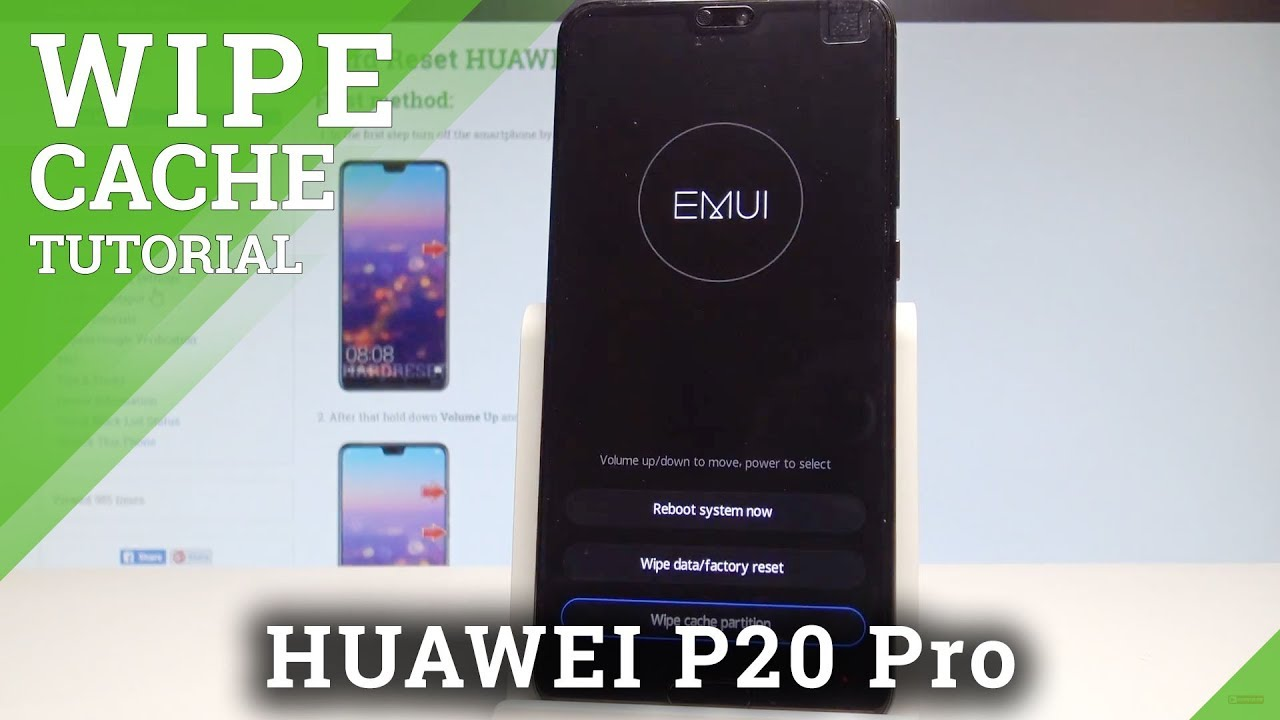 How to Delete Cache Files on HUAWEI P20 Pro - Wipe Cache Partition  |HardReset Info