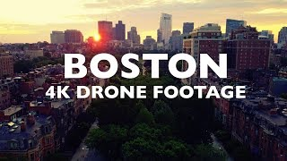 BOSTON Awesome Drone Footage 4K