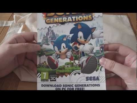 Summer of Sonic 2012 Goody Bag & Swag