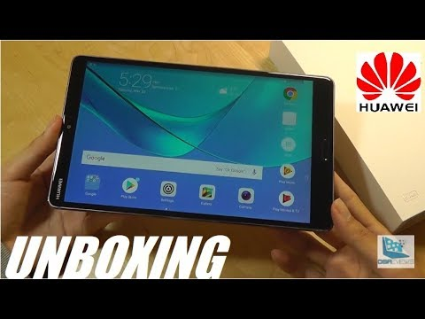 """Unboxing: Huawei MediaPad M5 (8.4"""") - Best Android Tablet?"""