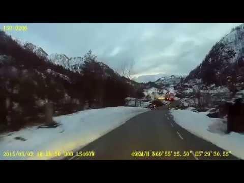 Norwegian county road