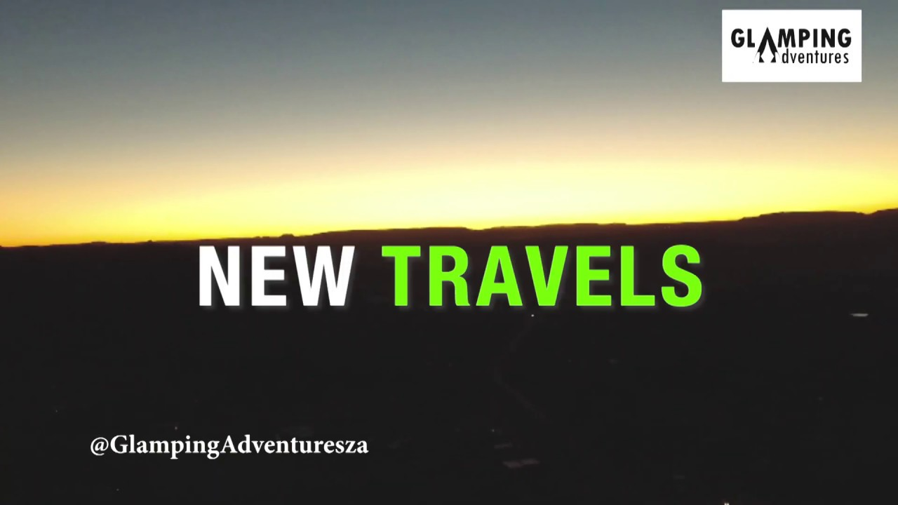 Glamping Adventures Travel Promo: Road Trip