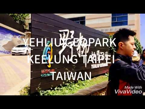 Vlog Yehliu Geopark Keelung Taipei Taiwan