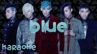 BIGBANG - Blue [karaoke]