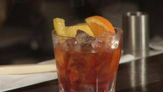 How To Mix A Negroni Cocktail