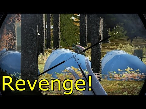 DayZ - Don't Backstab People When They Know Your Base Location