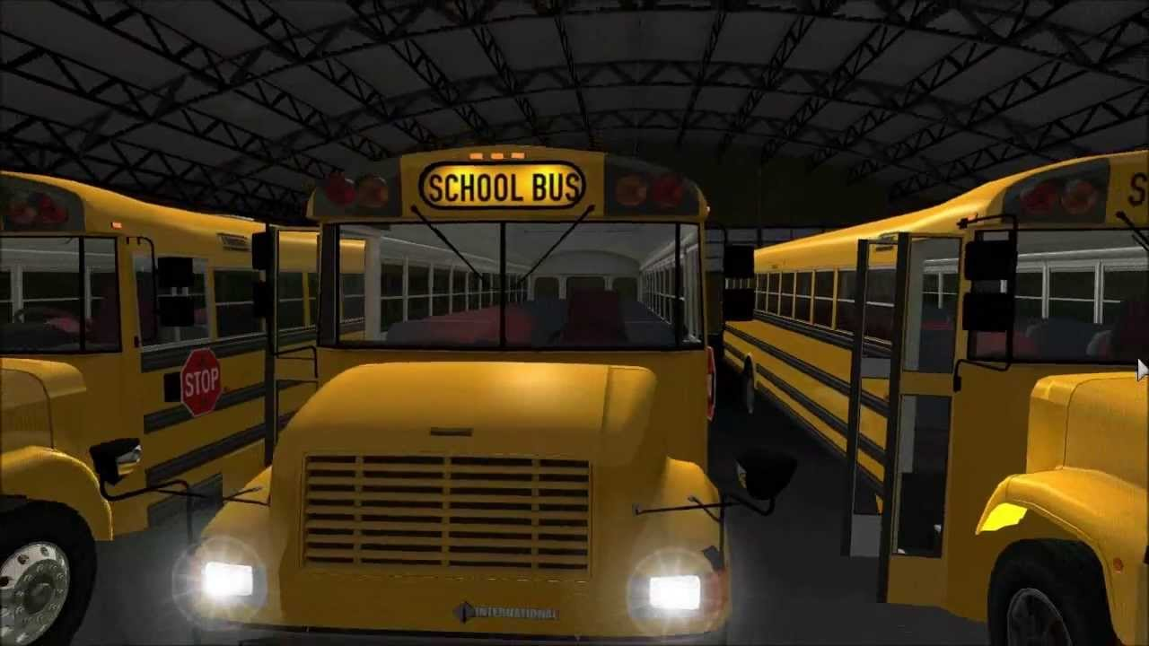 thomas school buses - walk around and details