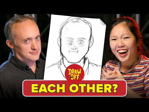 Animator Vs. Cartoonist Draw Each Other Draw Off