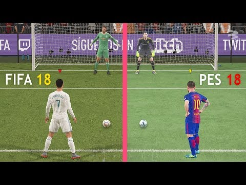 FIFA 18 Vs PES 18: Penalty Kicks