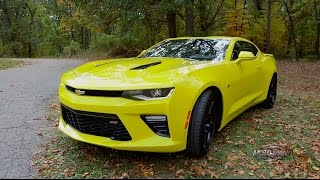 2016 Chevy Camaro SS FIRST DRIVE REVIEW & American Road Trip #FindNewRoads
