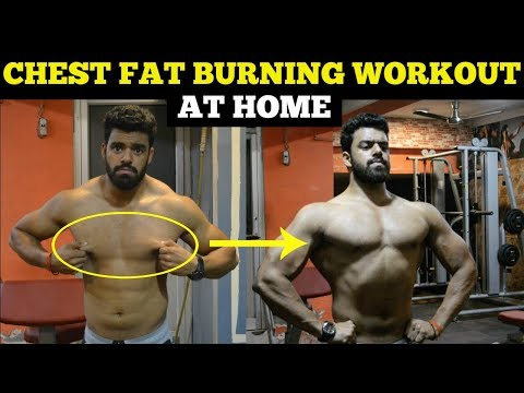 Chest Fat Burning Workout At Home (Men & Women) | No Equipments