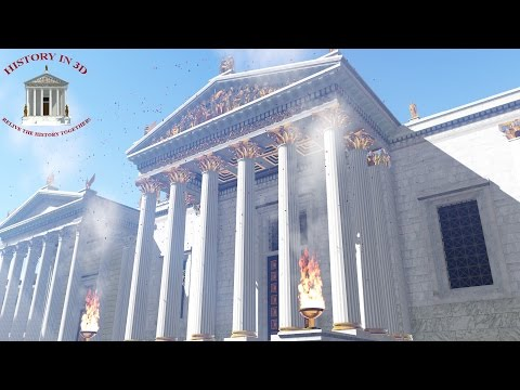 """HISTORY IN 3D"" - ANCIENT ROME 320 AD - 2nd trailer"