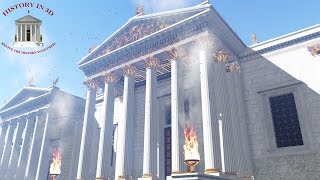 """""""HISTORY IN 3D"""" - ANCIENT ROME 320 AD - 2nd trailer"""