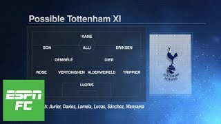 How will Tottenham line up in 2018/19, and will they regret not signing anyone? | ESPN FC