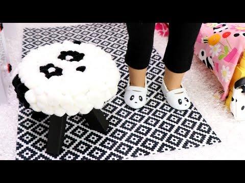 DIY  Bedroom Panda Chair & Crafts!