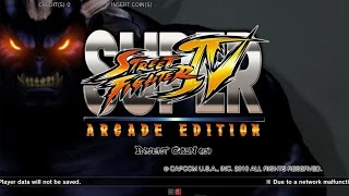 Super Street Fighter IV Arcade Edition - Taito Type X²