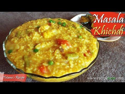 Vegetable Masala Khichdi Bengali Recipes | Moong Dal Khichdi | Bengali Khichuri Recipe