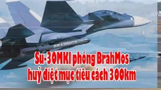Su 30MKI phóng BrahMos huỷ diệt mục tiêu cách 300km