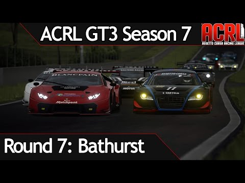 ACRL Season 7 EU GT3 Race 7 @ Bathurst