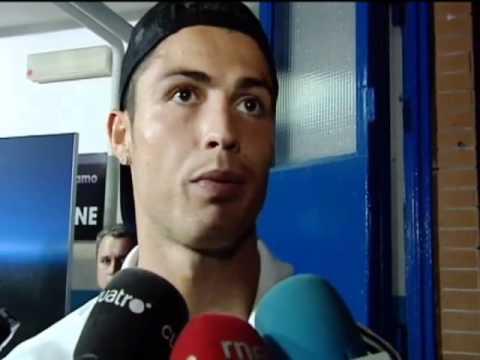 Cristiano Ronaldo, indignado: