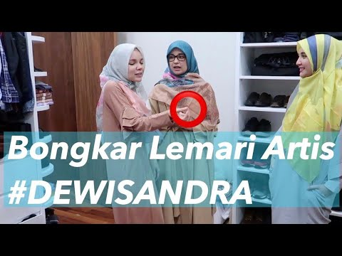 BONGKAR LEMARI ARTIS #2 Dewi Sandra
