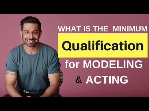 What Is Minimum Qualification For Modelling & Acting | Right Age To Start Acting | मॉडलिंग  करियर |