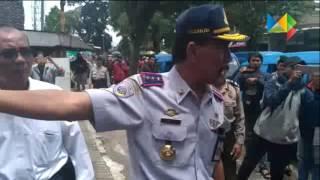 Sopir Angkot Demo Keberadaan Gojek | Malang Berita
