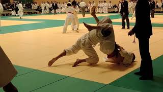 My 2nd Judo Black Belt Test In Japan
