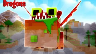 PRANKING THE FIRE NATION WITH GRONCKLE SLIME! GROSS! - Minecraft Dragons
