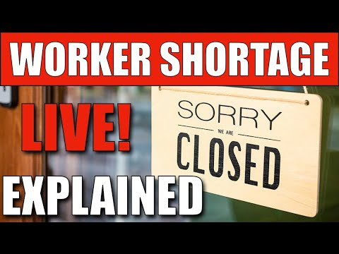 Why The USA Has A Worker Shortage