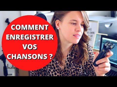 COMMENT J'ENREGISTRE MES CHANSONS ? (Matériel + Logiciel)