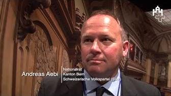Andreas Aebi, Nationalrat BE und Philipp Hadorn, Nationalrat SO