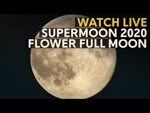 SuperMoon 2020: The last Super Full Moon of the year #SuperFlowerMoon