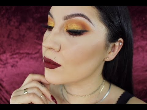 "Fall Makeup Glam featuring Morphe x Jaclyn Hill ""Ring the Alarm"" Palette thumbnail"