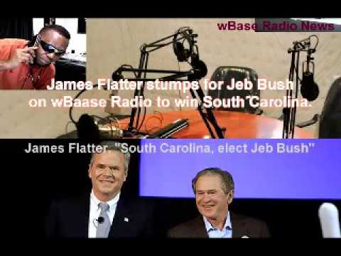 wBase Radio's James urges S. Carolina-rs to elect Jeb Bush