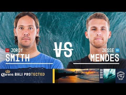 Jordy Smith vs. Jesse Mendes - Round of 32, Heat 16 - Corona Bali Protected 2019