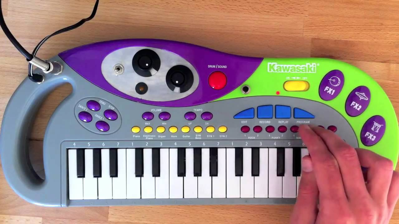 Circuit Bent Quottechnobeatquot Electronic Keyboard Youtube