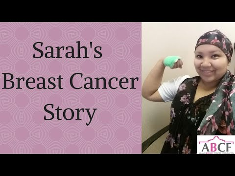 Sarah's Breast Cancer Story