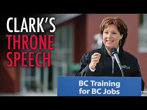 BC Throne Speech compromise comes with new spending