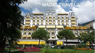 Montreux tour - Switzerland - Grand Hotel Suisse Majestic(MAGIC TRAVEL VIDEO Recorded: August 2014 Montreux -Switzerland, Grand Hotel Suisse Majestic Freddie Mercury, Château de Chillon Montreux is a ..., 2014-09-21T10:06:37.000Z)