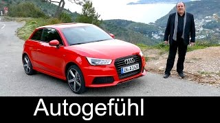 Audi A1 Sportback Facelift FULL Review test driven 2016 - Autogefühl