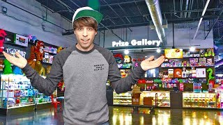 I Found My New Favorite Arcade! Won Jackpots Playing Games For Arcade Tickets! Scene 75 First Look
