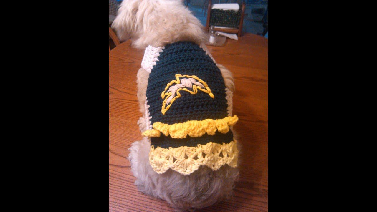 Easy Crochet Dog Sweater Youtube