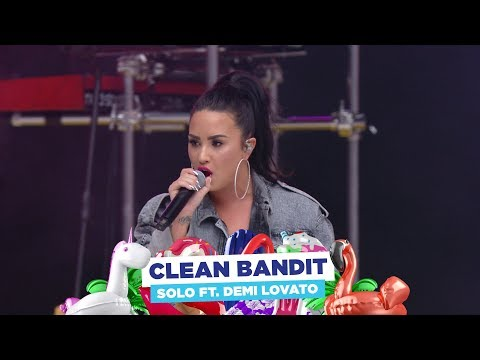 Clean Bandit  'Solo ft Demi Lovato  at Capital's Summertime Ball 2018