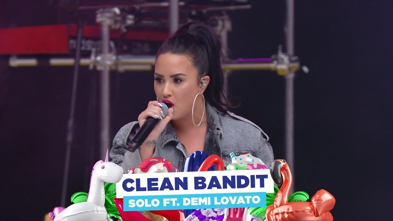 Clean Bandit - 'Solo' ft. Demi Lovato (live at Capital's Summertime Ball 2018) #1