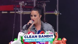 Clean Bandit - Solo ft. Demi Lovato (live at Capitals Summertime Ball 2018)