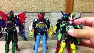 Kamen Rider OOO COMBO CHANGE SERIES 01-08 thumbnail